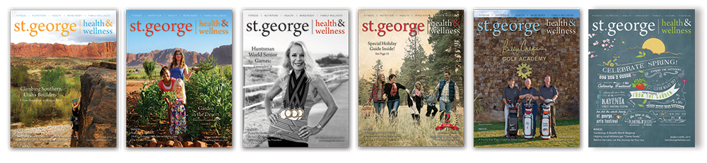 Subscribe to St. George Health & Wellness Magazine