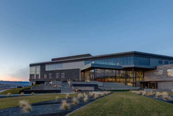 After years of planning, dreaming, working, and fundraising, the Dixie Technical College permanent campus is a reality. It stands atop the old airport hill on what is now Tech Ridge Drive as a beacon to people who want to improve their lives by improving their employability. The project was big;162,000 square feet to be exact. […]